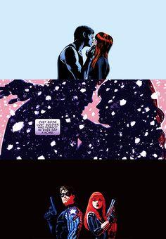 Black Widow + The Winter Soldier