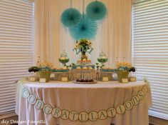 college graduation party ideas food | Graduation/End of School / Party Photo: I made the party banner with ...