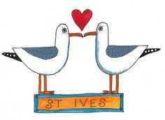 Sharon McSwiney: St Ives Seagulls