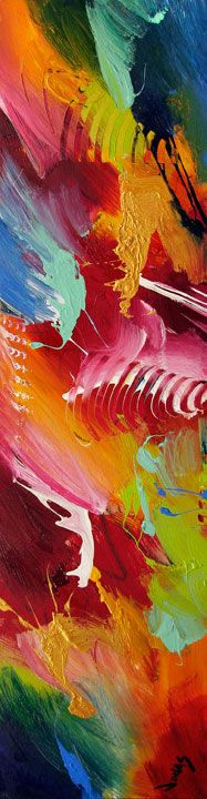 This Artist with Synesthesia Sees Colors in Music and Paints Your - alu dibond küchenrückwand erfahrung
