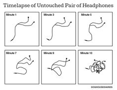Tastefully Offensive: Timelapse of Untouched Headphones