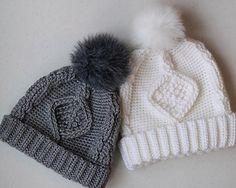 Ravelry: Deserai Diamond Cable Crochet Hat pattern by Lakeside Loops
