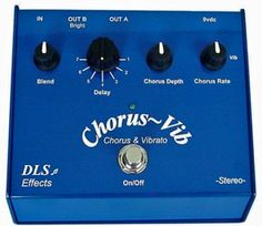 DLS Effects Chorus Vib http://www.area22guitars.com/pedals/dls/dls-effects-ultrachorus-272.html