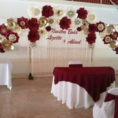 Profound shared quinceanera photography useful reference Quinceanera Centerpieces, Quinceanera Themes, Wedding Centerpieces, Wedding Decorations, Burgundy Wedding Theme, Red Wedding, Wedding Colors, Sweet 16 Decorations, Quince Decorations