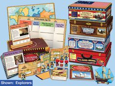 Social Studies Resource Boxes - Gr. 4-5 - Complete Set
