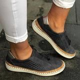 Womens Flats Sneakers Loafers Slip On Tassel Pumps Casual Hollow Shoes Size Loafer Sneakers, Casual Loafers, Casual Heels, Slip On Sneakers, Casual Sneakers, Loafers Outfit, Classy Casual, Comfy Casual, Comfortable Flats