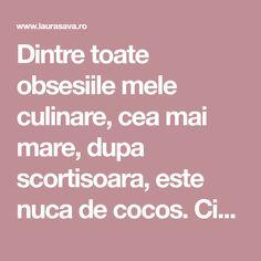 Dintre toate obsesiile mele culinare, cea mai mare, dupa scortisoara, este nuca de cocos. Ciocolata, culmea, vine imediat dupa, alaturi de cafea:) Din cauza asta, am recreat pentru voi celebra prajitura Bounty Barssub forma de prajitura de post. Oprajitura Bounty de post,cu blat afanat, pufos, ciocolatos si crema
