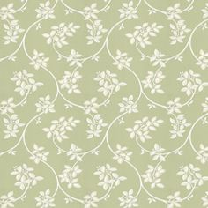 Ringwold is a meandering, playful tendrils and subtle two-tone leaf motif on a delicate trail. Made using white paints on a fresh green background - more colours are available. True Colors, Colours, Green Wallpaper, Farrow Ball, Fresh Green, Green Backgrounds, White Paints, Painting, Painting Art