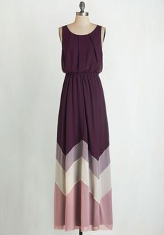 Romantic Resplendence Dress in Purple. Youre sure to feel as radiant as the breeze off the ocean in this airy, purple maxi dress! #purple #modcloth