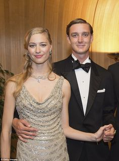 Pierre Casiraghi and Beatrice Borromeo attend the Rose Ball 2015 in aid of the Princess Grace Foundation at Sporting Monte-Carlo earlier this year in Monte-Carlo, Monaco