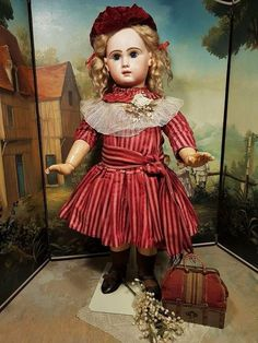 ~~~ Most Beautiful French Bisque BeBe Jumeau Size 13 ~~~ from whendreamscometrue on Ruby Lane