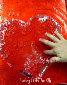 Marbleized Hearts craft for kids- just paper, oil, water and food coloring