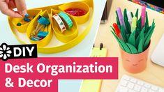 DIY Desk Organization & Decor | Collab with Makoccino | Sea Lemon