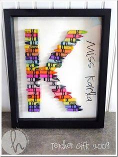 buena idea ara decoracion y/o regalo para el dia de la maestra!