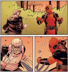 First Look: Deadpool vs. Old Man Logan by Shalvey & Henderson (Marvel) Old Man Logan, Logan Wolverine, Comic Art, Marvel Comics, Deadpool, Earth, Artists, Gallery, Fictional Characters