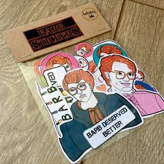 STRANGER THINGS: Mega Sticker Pack 24 Stickers BARB by LosersInk