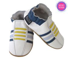 Pick your size  soft sole leather BABY crib shoes by minitoes, $22.00