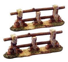 5 Inch Scale Fence - Set of 2 by Fontanini Fontanini Nativity, Fence Gate, Fences, Entrance Gates, Christmas Wishes, Xmas, Collectible Figurines, Diorama, Scale