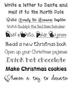 Fun in First Grade: Advent Calendar for Home