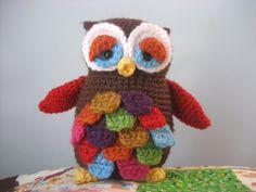 Mr Hoot Amigurumi Owl Pattern by AmyGaines on Etsy, $3.00