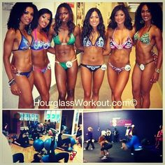 #tbt #throwbackthursday - some of my beautiful #hourglassworkout ladies showing off all their hard work!!! Love these ladies👯💋                       Wanna look this good? Next hourglass workout class starts next week!! HourglassWorkout.com 💪🙌