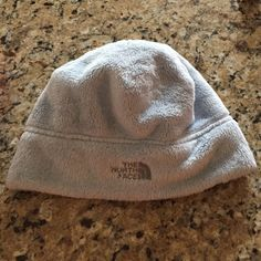 Fuzzy North Face Hat