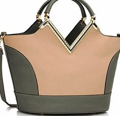 Chloe Ladies Fashion Designer Trendy Two Tone Patent Bags Womens Elegant Celebrity Handbag CWS00379 (A GRE Ladies Fashion Designer Trendy Two Tone Patent Bags (Barcode EAN = 0611901485164). http://www.comparestoreprices.co.uk/december-2016-week-1/chloe-ladies-fashion-designer-trendy-two-tone-patent-bags-womens-elegant-celebrity-handbag-cws00379-a-gre.asp