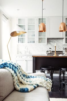 Kitchen Photos, Design, Ideas, Remodel, and Decor - Lonny Home Interior, Kitchen Interior, Interior Design, Greenwich Village, Living Room Photos, Living Spaces, Sweet Home, Decoration Inspiration, Kitchen Photos