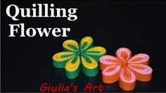 DIY Simple quilling flower - Tutorial 1 ( Fiori ) - Quilling for beginners. In this tutorial i will show you how to make a simple but beautiful paper quilling flower for decoration. This tutorial its for beginners, its a step by step instructions and its Diy Quilling, Quilling Flowers Tutorial, Quilling Images, Paper Quilling Flowers, Paper Quilling Designs, Quilling Paper Craft, Flower Tutorial, Paper Quilling For Beginners, Quilling Techniques