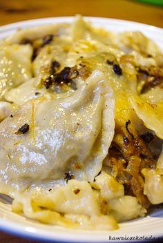 Pierogi z kapustą i grzybami | Kawa i Czekolada