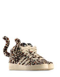 8262d81f7d9e Jeremy Scott Adidas-  Krystal Alexander Leopard Adidas