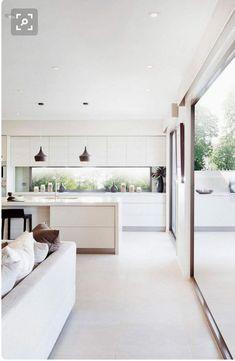 Choosing the best Kitchen Layout Open Plan Kitchen Living Room, Kitchen Room Design, Modern Kitchen Design, Home Decor Kitchen, Interior Design Kitchen, Home Kitchens, Küchen Design, House Design, Minimalist Kitchen