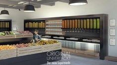 Apre a Berlino il supermercato senza imballaggi