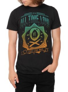 All Time Low Love Like War T-Shirt