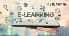 Translate and let the world know your E-Learning and training solutions.  #MarsTranslation #ServiceProvider #Languages #Translation #Localization #NativeTranslators #TranslationServices
