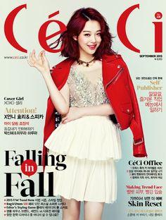 f(x)'s Sulli // Ceci Korea // August 2013