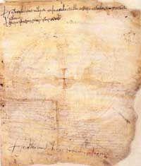 First written sample of Italian language