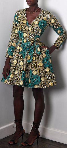 d162f6af136 The complete pictures of latest ankara short gown styles of 2018 you ve  been searching for. These short ankara gown styles of 2018 are beautiful