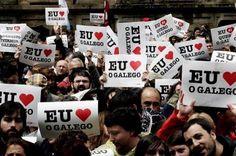 Campaña de apoio á lingüa galega