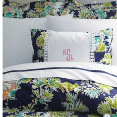 Lilly Pulitzer Bedding from Garnet Hill