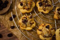 Mandel Cranberry Florentiner Kekse // #Rezept auf meinem #Blog: ofengefluester.de