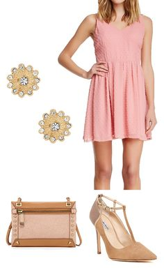 Cute outfit for a wedding, tea party or baby shower!
