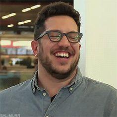 I love his laugh