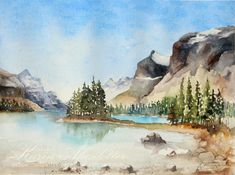 Canada – Original Watercolor