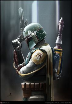 Boba Fett: Bounty Hunter porción Andy Fairhurst | 2D | CGSociety