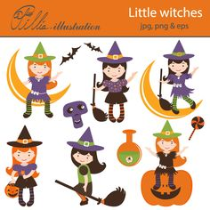 little witches - Bing Imagens