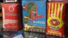 Mainos: Kahvia 1950-luvulta