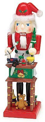 Toy Maker Santa Claus Holiday Christmas Nutcracker Figurine Gift