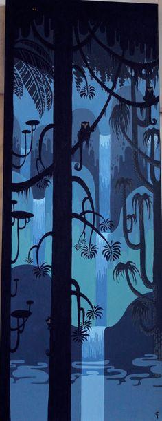 blue djungle
