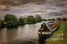 Canal Boat, Narrowboat, Great Britain, All Over The World, Beverly Hills, Fine Art America, Instagram Images, Scene, River